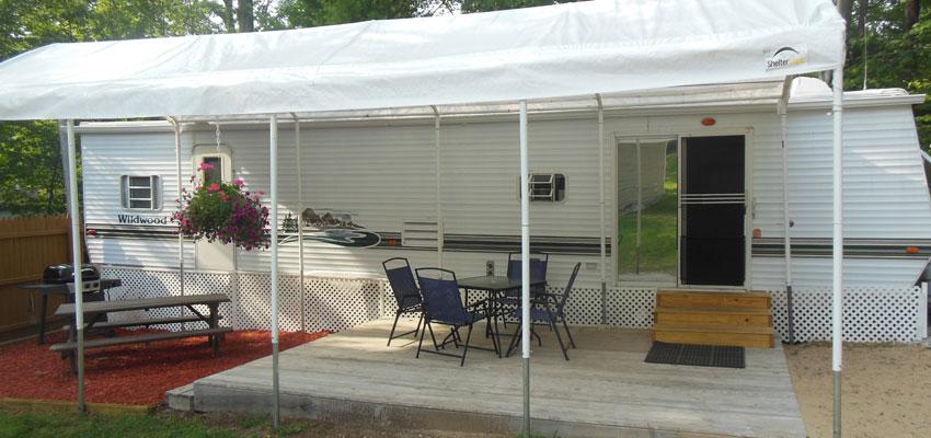 silver lake trailer rentals